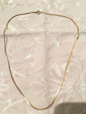 Vintage Cadena de oro color oro oro verdadero