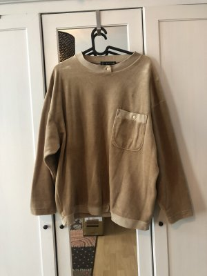 90's Samt Pullover