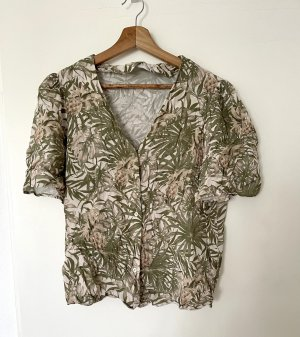 90's Style Bluse mit Ananas Muster