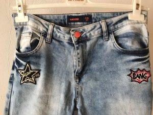 Boyfriend Jeans azure