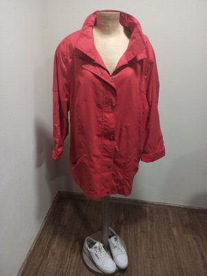 Vintage Oversized Jacket bright red-red