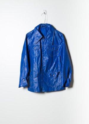 90s Damen Windbreaker in Blau