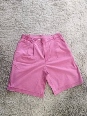 90s Etirel Shorts High Waist altrosa washed Gr. 38/40