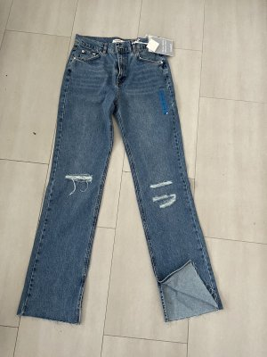 Pull & Bear Baggy Jeans blue-light blue