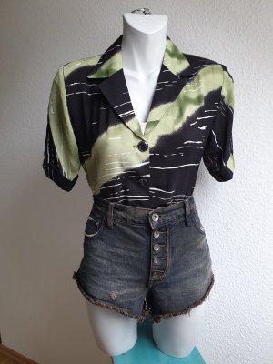 90s Vintage Bluse / Blusenjacke, Grunge Look