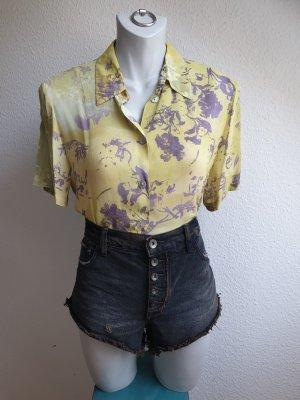 90s Vintage Bluse mit originellem Pferde Print