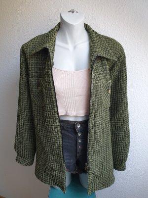 90s Vintage Oversize Hemdjacke, Grunge Look