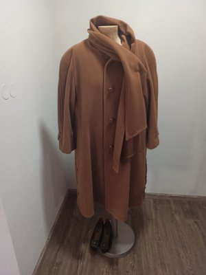 Vintage Oversized Coat multicolored wool