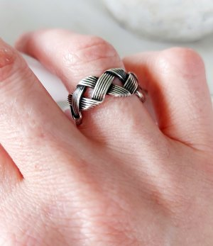 925 ring verstellbar