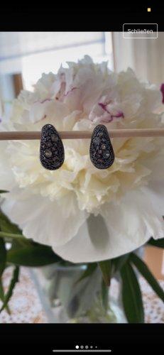 Silver Earrings grey