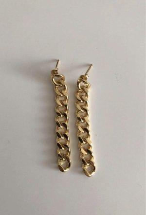 echt Silber 925 Zilveren oorbellen goud