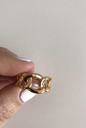 echt Silber 925 Zilveren ring roségoud-goud