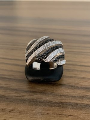 Silver Ring silver-colored-anthracite