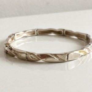 Vintage Zilveren armband zilver-goud