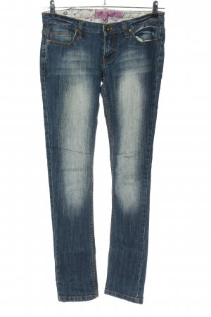 98-86 Low Rise jeans blauw casual uitstraling