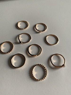 Unbekannte Marke Złoty pierścionek złoto