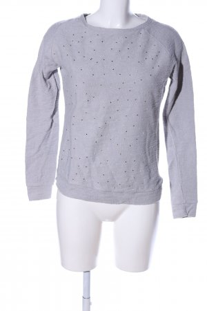 9th Avenue Jersey de cuello redondo gris claro look casual