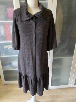 A Common Thread Robe en laine brun foncé