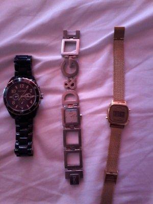 a) D&G b) Tommy Hilfiger c) Casio Original Uhren