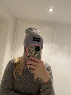 Abercrombie & Fitch Bonnet gris clair