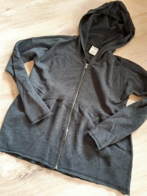 Abercrombie & Fitch Giacca con cappuccio grigio scuro