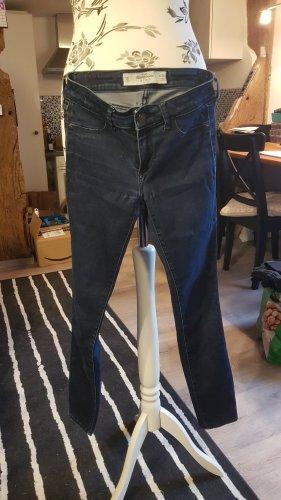 Abercrombie & Fitch Vaquero hipster gris pizarra-azul oscuro