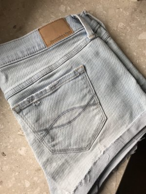 Abercrombie & Fitch Shorts azzurro