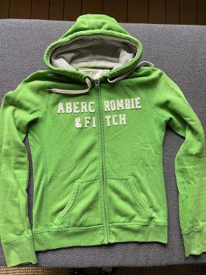 Abercrombie & Fitch Sweat Jacket green