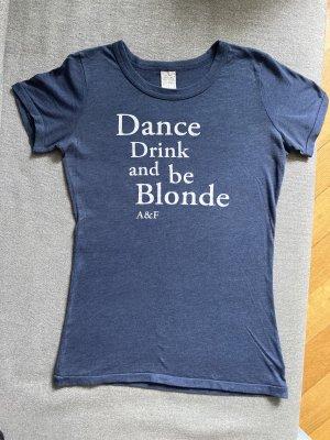❤️ A&F T-Shirt blau/S