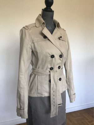 Abercrombie & Fitch Trench Coat cream-natural white