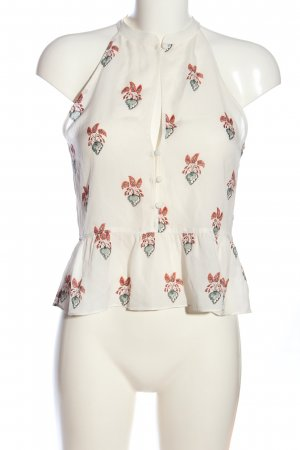 A.L.C. Sleeveless Blouse allover print casual look