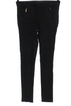 A.L.C. Pantalon en cuir noir style décontracté