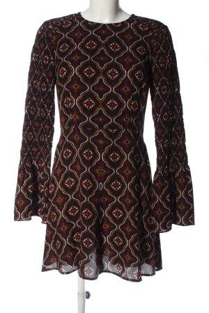 A.L.C. Robe courte imprimé allover style décontracté