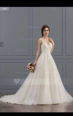 A line Hochzeitskleid