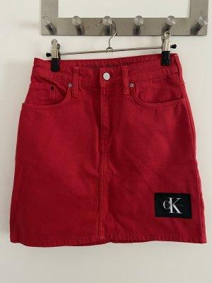 Calvin Klein Jeans Jeansowa spódnica Wielokolorowy