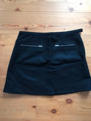 COS Wool Skirt black