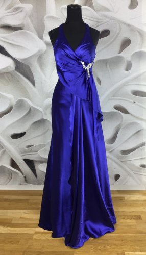 A-Linie Abendkleid, Ballkleid, blau