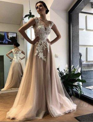 A-Linie Brautkleid Hochzeitskleid Gr. 40 Rose