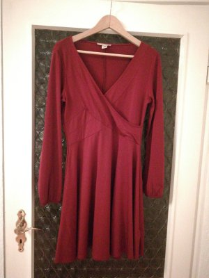 Anna Field Robe à manches longues rouge carmin