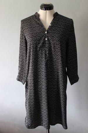 A-Linien Kleid mit 3/4 Ärmeln