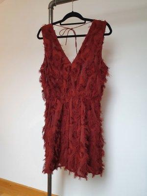 A-Linien Kleid mit besonderer Applikation