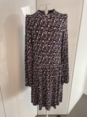 A-Linien Kleid mit Streublumen-Print