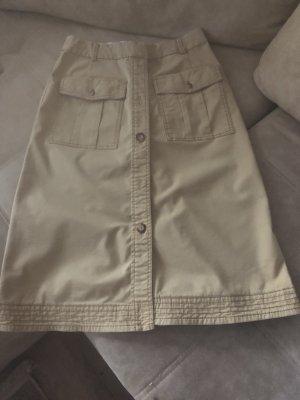 Esprit Midi Skirt beige