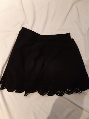 SheIn Circle Skirt black