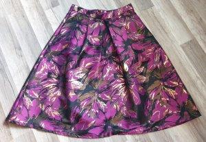 Miss Selfridge Jupe à plis multicolore