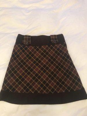 Orsay Falda de lana marrón