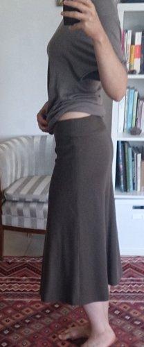 Cinque Spódnica midi jasnobrązowy Wełna