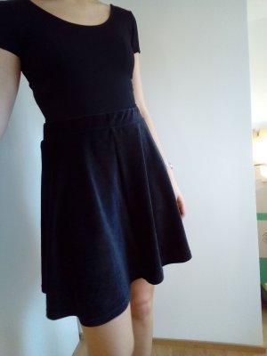 Spódnica z koła czarny