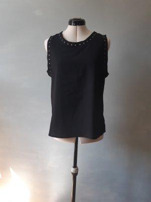 Zara Basic Koszulka o kroju podkreślającym sylwetkę czarny