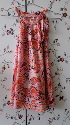 A-Linien Top mit Paisleymuster
